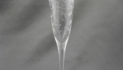 Breeze Clear Etched Flute